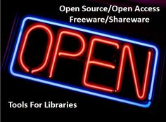 #OpenSource #OpenAccess #Freeware #Shareware Tools for Libraries / Chad Mairn @cmairn | Open Source Software (OSS) is sometimes associated with Freeware and Shareware, but this webinar will eliminate that confusion and discuss the value of all three of these for your library. With libraries facing Draconian budget cuts it seems natural for them to select and use a variety of the above-mentioned software tools, but this frequently is not the case [...] |#oainves