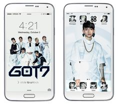 [Exclusive] Download GOT7 Mobile Theme + Win Autographed Album! | Soompi Giveaways, Got7, Fangirl, Music Videos, Wallpapers, Kpop, Album, Deco, Twitter