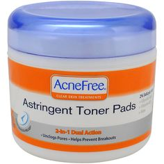 Acnefree Acne Astringent Toner Pads, 60 Count #Acne #Spot #AcneTreatment #SpotTreatment #Treatment @bestbuy9432