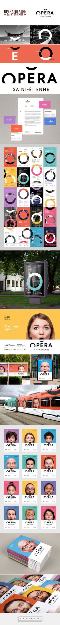 Brand New: New Name, Logo, and Identity for Opera Saint-Étienne by Graphéine... - a grouped images picture - Pin Them All