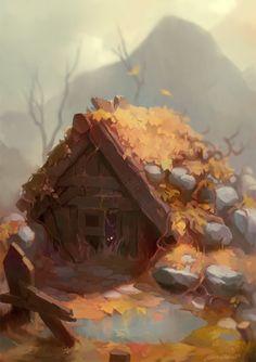 Autumn is coming, Georgi Georgiev on ArtStation at https://www.artstation.com/artwork/XJy5n