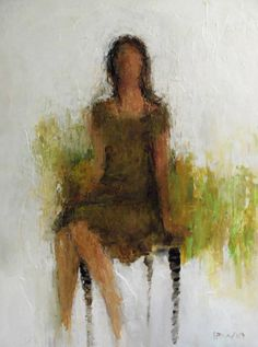 """Dream  48x36""""  Acrylic & Mixed Media  Holly Irwin, artist"""