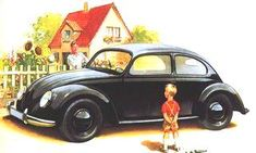 Volkswagen Beetle Initially called the Porsche Type 60 by Ferdinand Porsche, the car was officially named the KdF-Wagen by Hitler when the project was launched. Volkswagen New Beetle, Volkswagen Logo, Vw Bus, Ferdinand Porsche, Vw Logo, Vw Cabrio, Kdf Wagen, Auto Union, Mercedes Benz