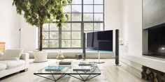 Filosofía Home Cinemas, Loewe, Dining Table, Desk, Connect, Furniture, Home Decor, Gadgets, Appliances