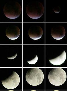 Super moon eclipse @ukweatherfotcasts