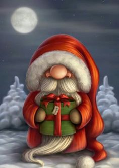 Funny Santa Claus Pictures : Christmas is a jolly holiday season and we do love Father Christmas who is known as Santa Claus. Santa claus is known to ride his reindeer sledge and bring gifts to kids Christmas Gnome, Christmas Art, Winter Christmas, Vintage Christmas, Christmas Decorations, Xmas, Christmas Ornaments, Father Christmas, Funny Christmas