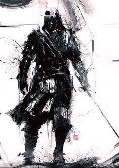 AC IV Black Flag - Edward 1, simon goinard on ArtStation at https://www.artstation.com/artwork/ac-iv-black-flag-edward-1