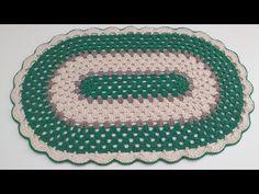 Lavender Roses, Crochet Earrings, Crochet Patterns, Rugs, Youtube, Decor, Polka Dot Rug, Crochet Carpet, Oval Rugs