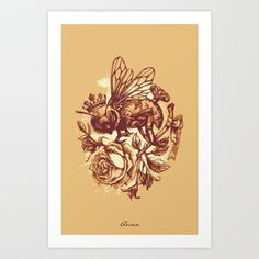 Queen Art Print by Diego Verhagen - $17.00