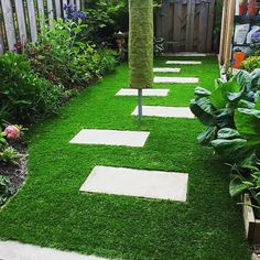 A small path project with artificial grass. #TheTurfWarehouse #artificial #fakegrass #artificialgrass #astroturf #grass #syntheticgrass #syntheticturf #garden #landscape #gardening #scotlandUK
