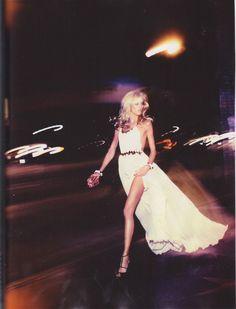 Anja Rubik and that white dress
