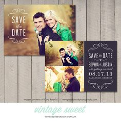 Save the Date Card / Magnet Printable by by vintagesweetdesign, $12.00; PLEASE NOTE: THIS IS NOT AN EDITABLE TEMPLATE.