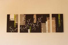 YAY' peintures abstraites Deco, Abstract Paintings, Canvases, Art Deco, Contemporary, Art Paintings, Decoration, Deko, Decor