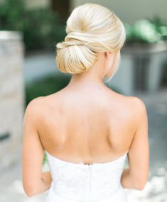 Match Your Hairstyle to Your Wedding-Dress Neckline | https://www.theknot.com/content/match-wedding-hairstyle-wedding-dress-neckline