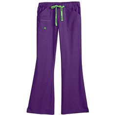 Crocs Uniforms Women's Felicia Flare Leg Solid Scrub Pant