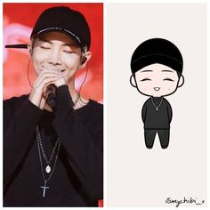 JJ's Art Style **RP purposes only, all credit to original artist! Namjoon, Taehyung Fanart, Kpop Drawings, Bts Chibi, Bts Fans, Kpop Fanart, I Love Bts, Memes, Mickey Mouse