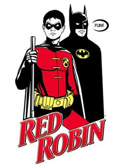 Red Robin by HeroforPain.deviantart.com on @deviantART