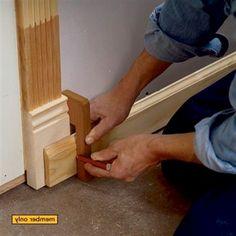 7 Trim Carpentry Secrets #WoodworkingTips