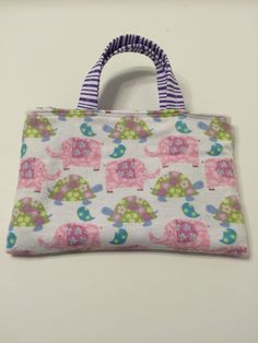 Pink Elephant - Toddler Tote, $15.00