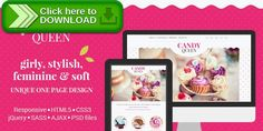 [ThemeForest]Free nulled download Candy Queen - Responsive One Page Portfolio from http://zippyfile.download/f.php?id=5554 Tags: beauty, blue, clean, creative, cute, event, feminine, flowers, food, girly, one page, pink, purple, vintage, wedding