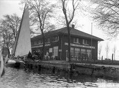 1934 KLM cafe restaurant Schiphol