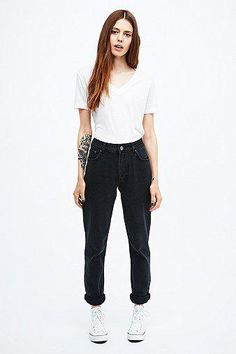 BDG Mom Jeans in Black #covetme #bdg #cute