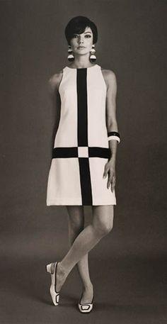 model Jan Stewart in Simona fashion (1966) by Australian fashion photographer Bruno Benini. collection: Powerhouse Museum, Sydney. via Husk, du skal dø