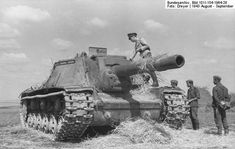The SU-152 was a WWII Soviet self-propelled howitzer based on the chassis of a KV-1 heavy tank  (technically a howitzer not a tank) #WorldWar2 #Tanks