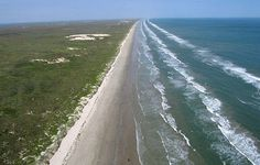 Beach on North Padre...nothing but 60 miles of beach