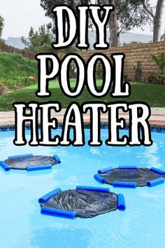 These DIY pool heaters are easy and inexpensive swimming pool heaters that only cost a few dollars and are great solar collectors. Homemade Pool Heater, Diy Pool Heater, Homemade Pools, Swimming Pool Heaters, Diy Swimming Pool, Homemade Swimming Pools, Mini Pool, Piscina Diy, Pool Warmer
