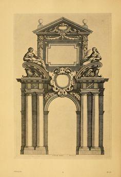 """Peter Jessen - Book: """"Das Barock im Ornamentstich"""" (1900)"""