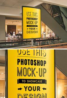 Mockup Banner - 7 Mockups diversos para Apresentação do seu Projeto