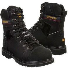 """Caterpillar Men's Tracklayer 8"""" Steel Toe Waterproof Boot"""