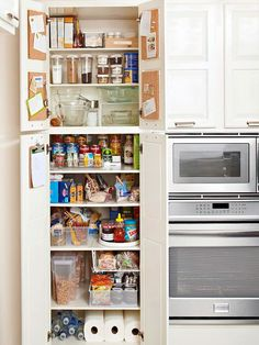 Top Tips for Kitchen Pantry Organization    Bring order to your kitchen pantry using our top organizing and storage tricks.