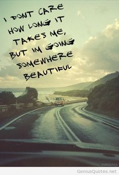 Wanderlust. ✌ Road trip with friends, please.