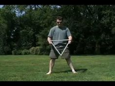 Devil's Triangle and other devil stick tricks - YouTube