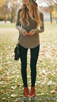 30 Astounding Fall Women Outfits to Copy Right Now - PinZones Trendy Fall Outfits, Warm Outfits, Fall Winter Outfits, Cute Outfits, Casual Winter, Winter Clothes, Winter Style, Latest Fashion For Women, Latest Fashion Trends