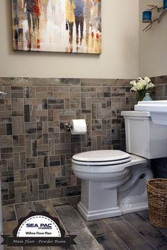 The Willow Floor Design - Powder Bathroom  #SEAPACHomes, Premiere #SnohomishCountyBuilder, #NewHomesEverett, #NewHomesBothell #NewHomesSeattle #InteriorDesign #Bathrooms #MasterSuite #Sinks #Toilets #Countertops #HardWoodFloors #MasterBathroom #Kitchens #Bedrooms http://seapachomes.com/available-homes.php