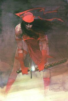 """Elektra by Bill Sienkiewicz """""""