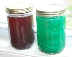 calm-down jars - help kids visualize how they may be feeling internally when they become upset or anxious
