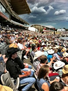 Opening day at Stampede! #Stampede100 Photo by @DreamCatcher_BF
