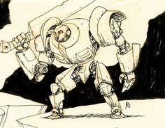 Concept robot sketches by Jake Parker Game Character Design, Character Design References, Character Concept, Character Art, Robot Sketch, Arte Robot, Arte Cyberpunk, Robot Concept Art, Robot Design