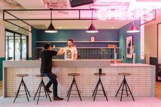 "WeWork, a $16 billion coworking giant that leases out offices to startups, freelancers and creatives, recently opened a new coworking campus in downtown San Francisco. ""It doesn't get much more quintessential San ... Read More"
