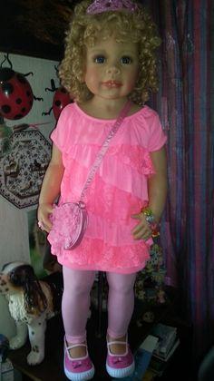 Что за наваждение такое.... / Наши коллекции кукол / Бэйбики. Куклы фото. Одежда для кукол Reborn Toddler Girl, Toddler Girls, Girls Dresses, Flower Girl Dresses, Bedspreads, Reborn Dolls, Vintage Dolls, Harajuku, Little Girls