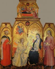Taddeo di Bartolo - Annunciazione - Pinacoteca Nazionale Siena