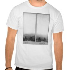Two views of the construction of the Eiffel T Shirt, Hoodie Sweatshirt