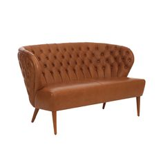 FADO leather sofa 2 places - Paulo Antunes.