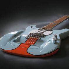 This sleek GT40™ guitar is as fast as it looks.