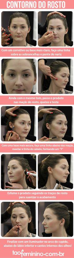 Make-Up Tutorial: How To Contour Your Cheeks Like Victoria Beckham – random – - Makeup Tutorial Lipstick Hair Contouring, Contour Makeup, Contouring And Highlighting, Victoria Beckham, Diy Makeup, Makeup Tips, Beauty Makeup, Posh Spice Hair, Spice Girls