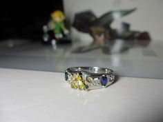 Legend of Zelda ring. Oh. My. Gooodnessss!!!! :O *jaw breaks off from dropping so hard*